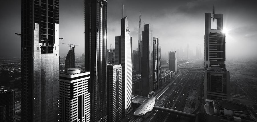 434 Городские пейзажи Элисдэйра Миллера