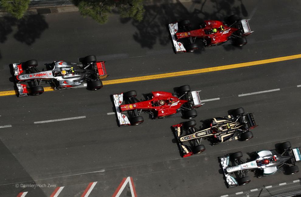 4414 За кадром 70 го Гран При Монако 2012: фоторепортаж