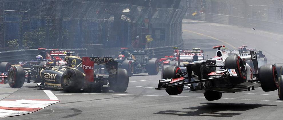 4512 За кадром 70 го Гран При Монако 2012: фоторепортаж