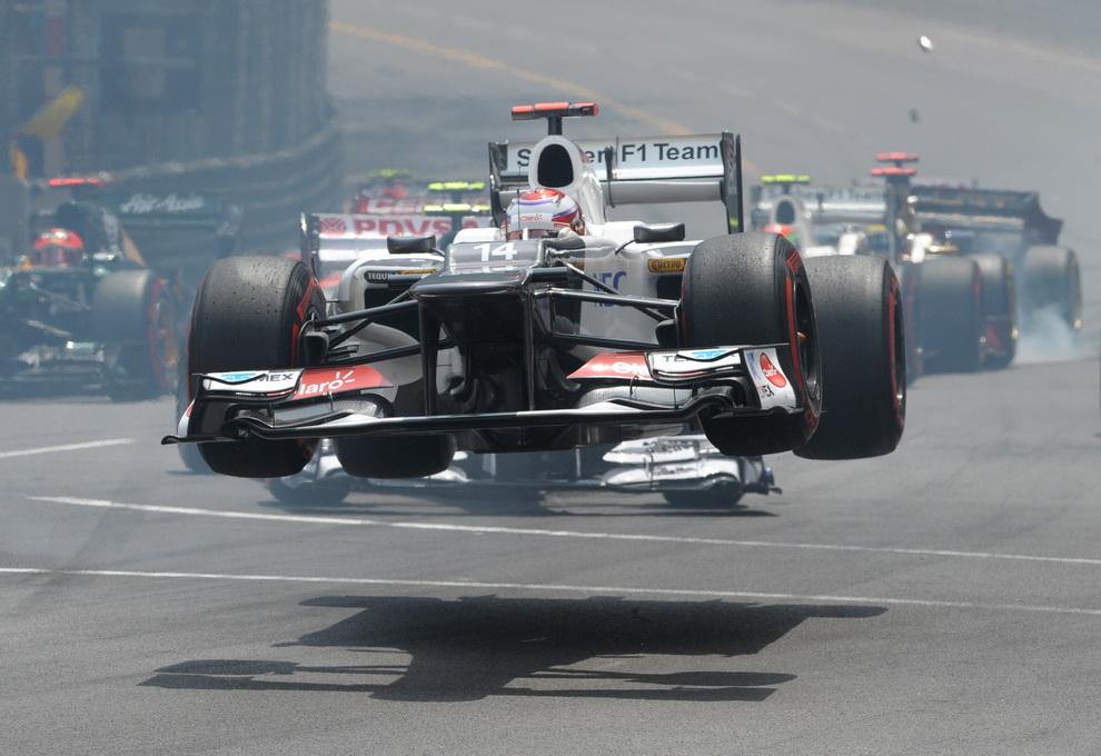 4612 За кадром 70 го Гран При Монако 2012: фоторепортаж