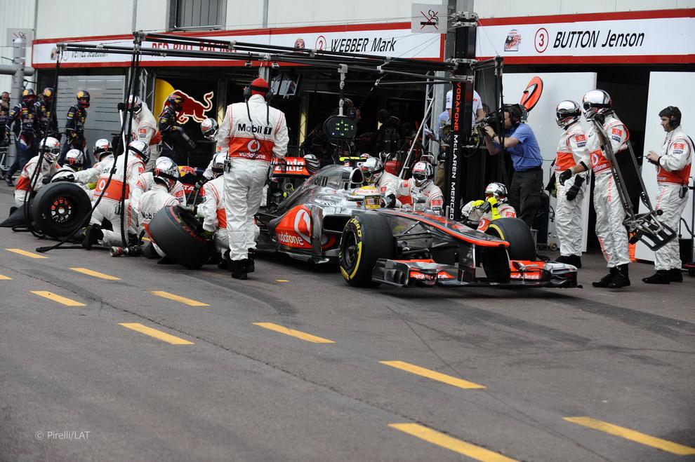 4811 За кадром 70 го Гран При Монако 2012: фоторепортаж