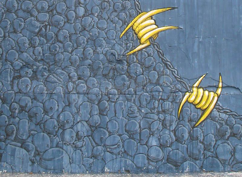 494 Лучшие работы в жанре Стрит арт в апреле 2012