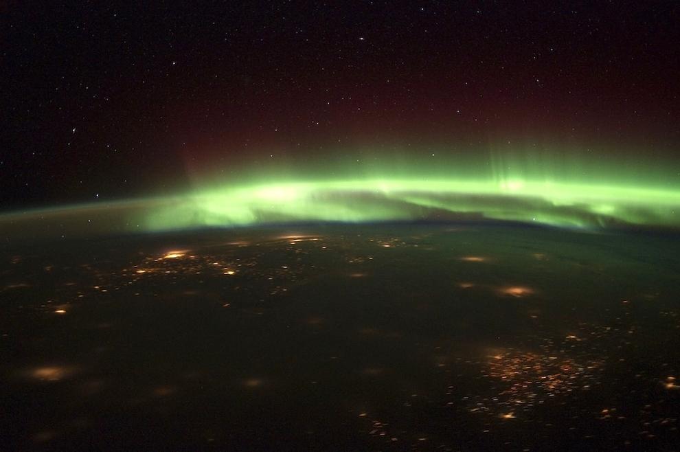 513 Удивительные фото северного сияния