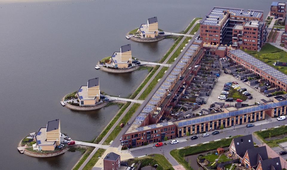 5135 Фотографии Нидерландов с воздуха
