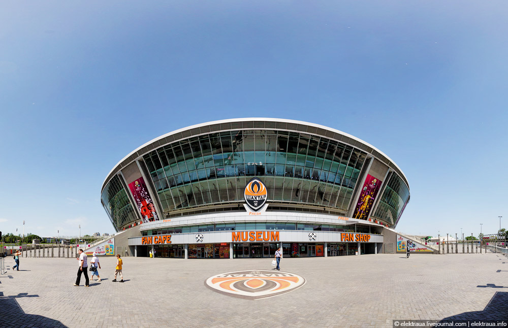 5219 Донецкий стадион Донбасс арена