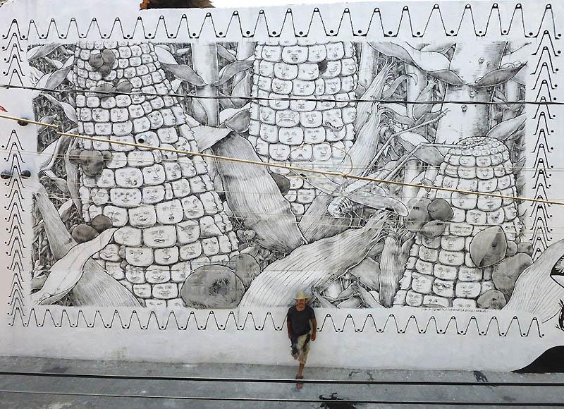 576 Лучшие работы в жанре Стрит арт в апреле 2012