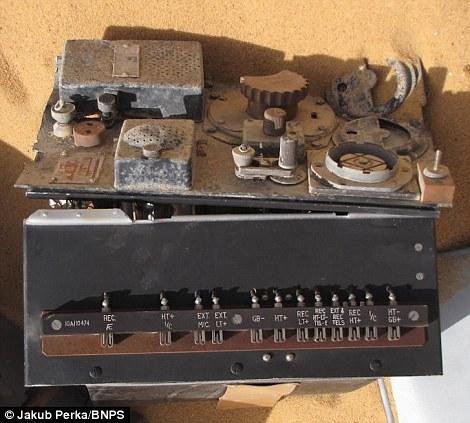 6134 В Сахаре нашли самолет Королевских ВВС времен Второй мировой