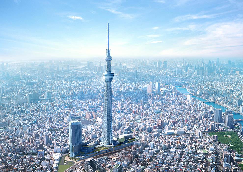 6163 Грандиозная телебашня в Токио