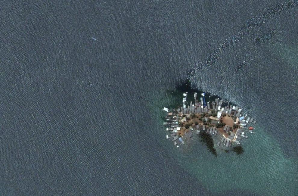 6184 Интересные объекты «Google Планета Земля»