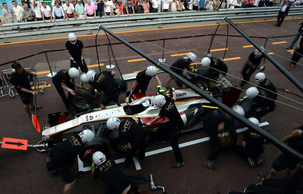 6195 За кадром 70 го Гран При Монако 2012: фоторепортаж