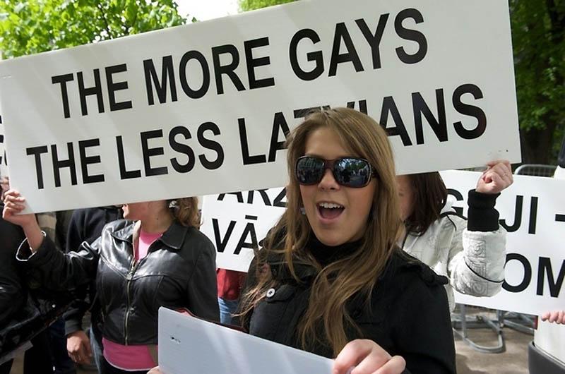 6201 Лица гомофобии разных стран мира