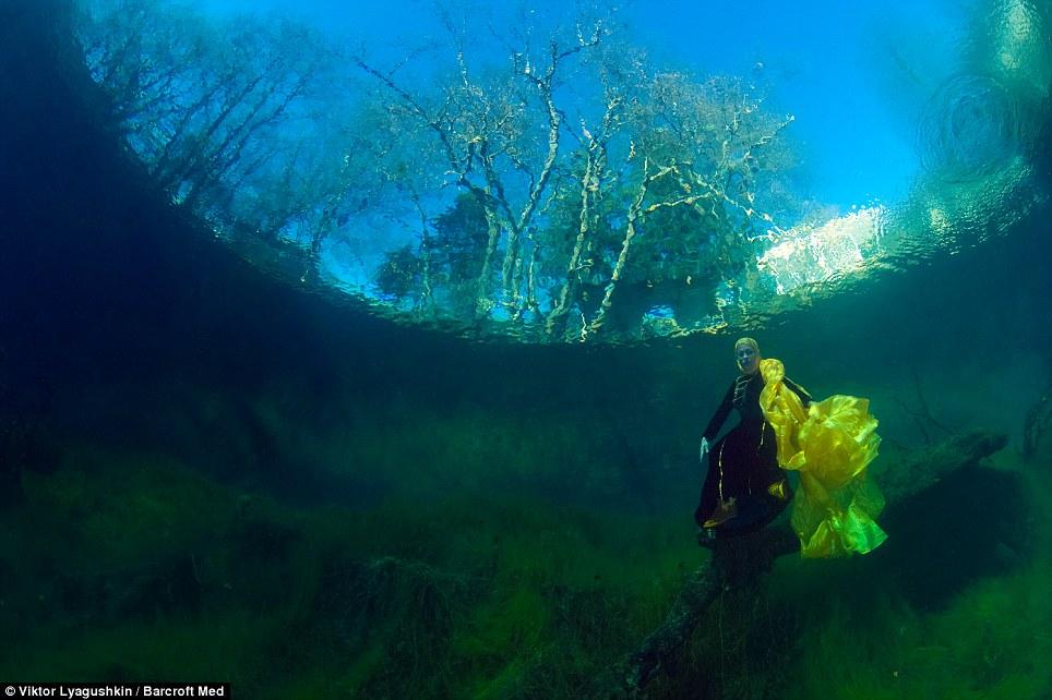 655 Голубое озеро   неизведанный подводный мир