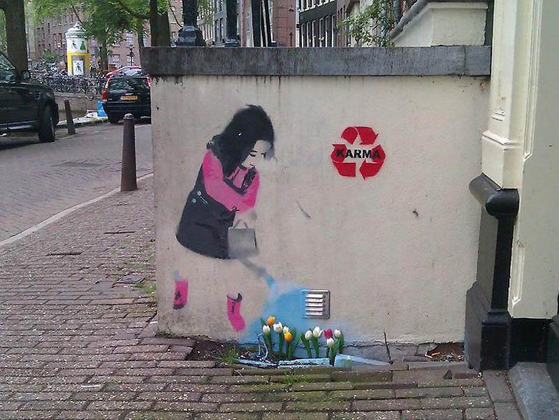 674 Лучшие работы в жанре Стрит арт в апреле 2012