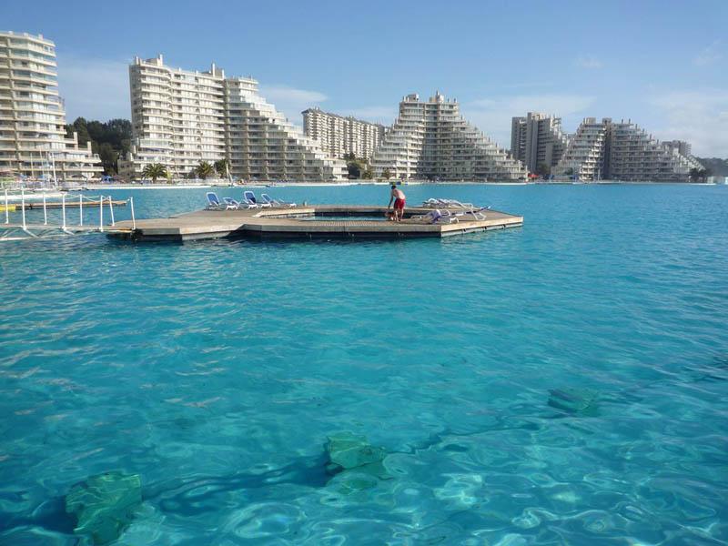 7100 Самый большой бассейн в мире