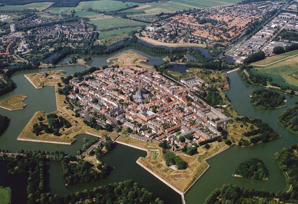 7118 Фотографии Нидерландов с воздуха