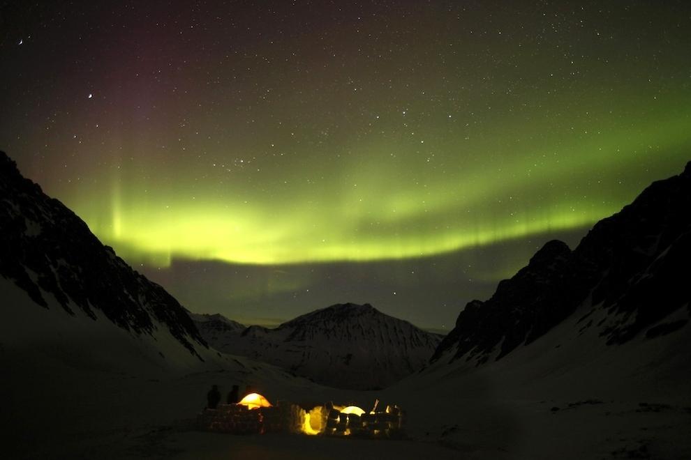 712 Удивительные фото северного сияния