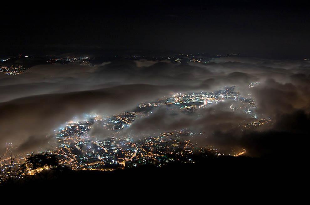 7146 Города окутанные туманом