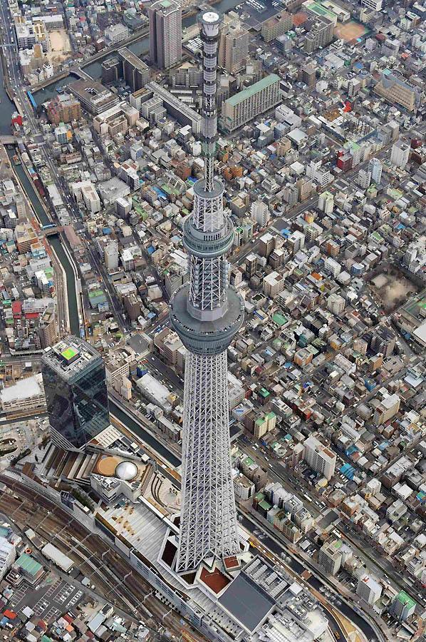 7150 Грандиозная телебашня в Токио