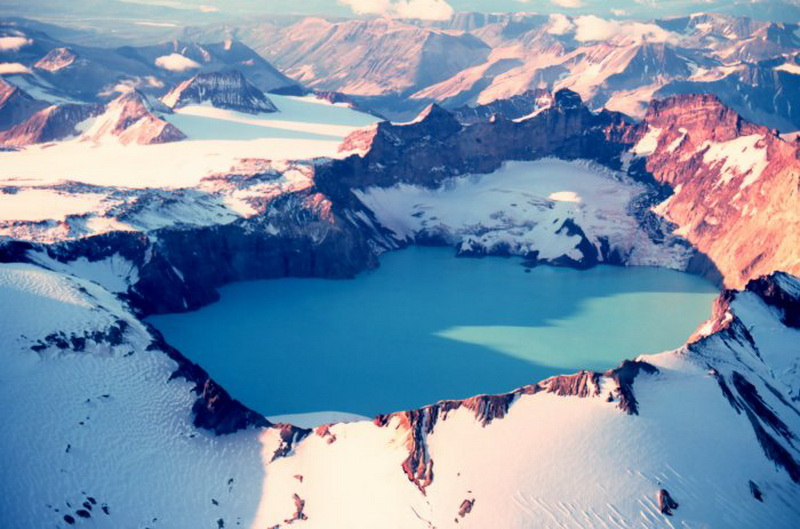 7170 15 кратерных озер