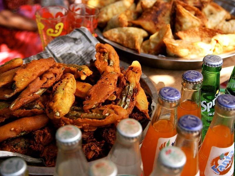 7175 Популярная уличная еда в разных странах