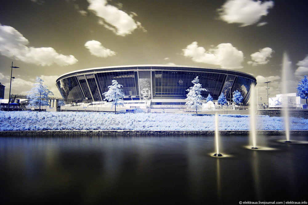 7190 Донецкий стадион Донбасс арена