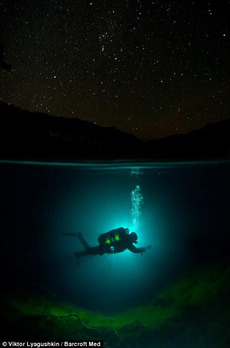 753 Голубое озеро   неизведанный подводный мир