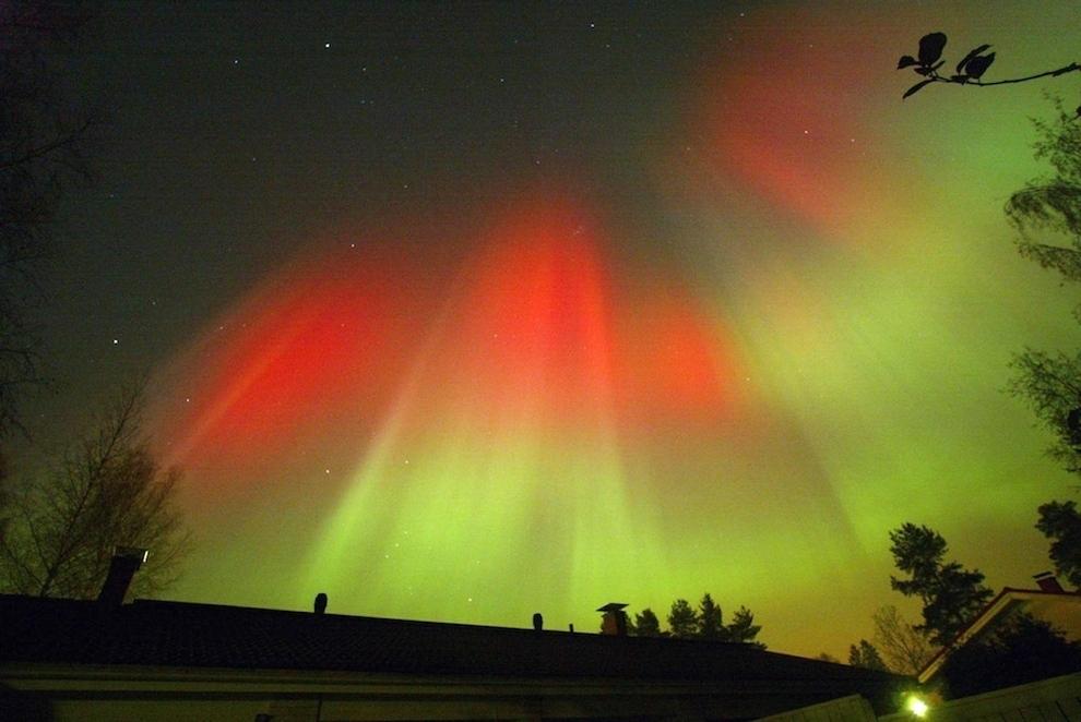 812 Удивительные фото северного сияния