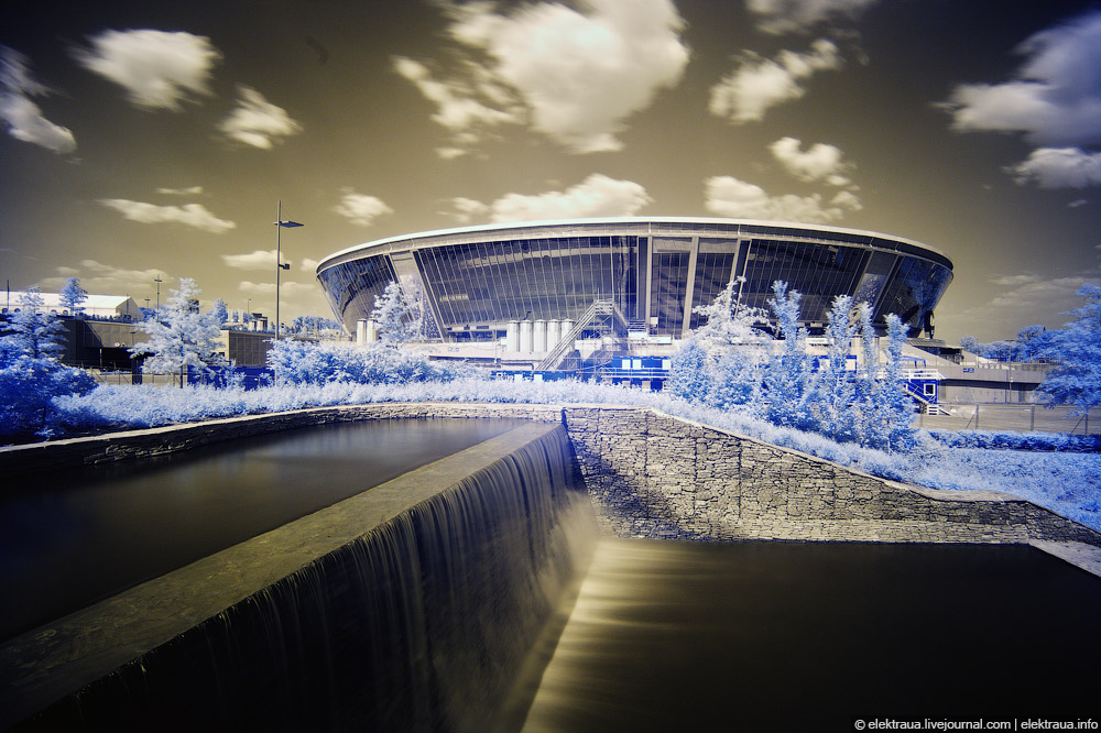 8180 Донецкий стадион Донбасс арена