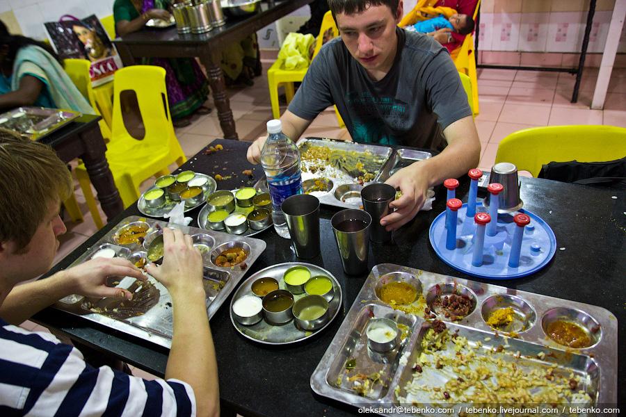 844 Индийская кухня глазами иностранца
