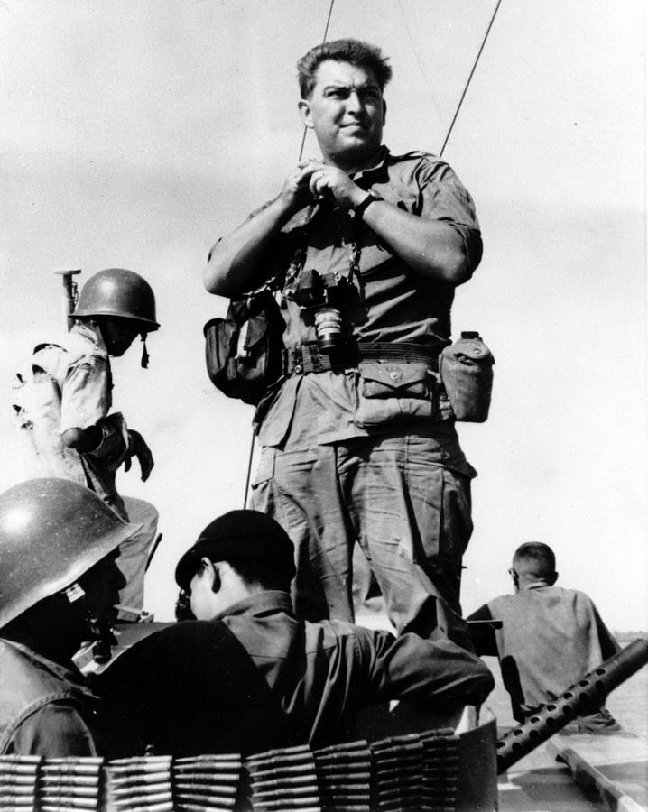 899 Легендарный военный фотограф Хорст Фаас умер в возрасте 79 лет