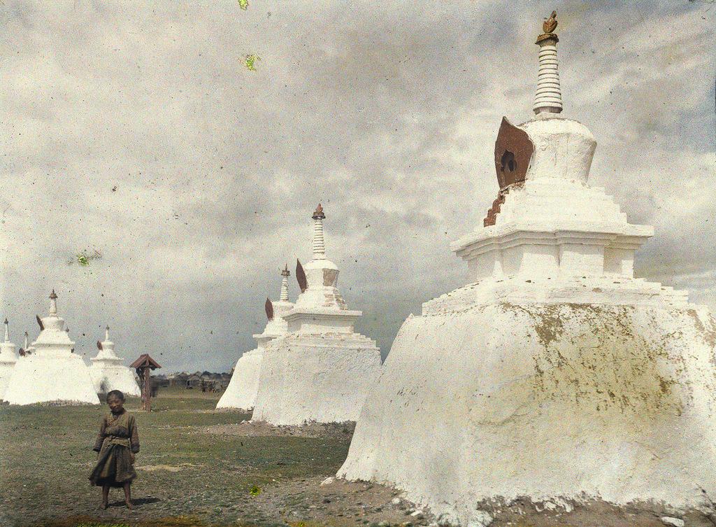 91 Глубокий феодализм в цвете: Российский протекторат Монголия в 1913