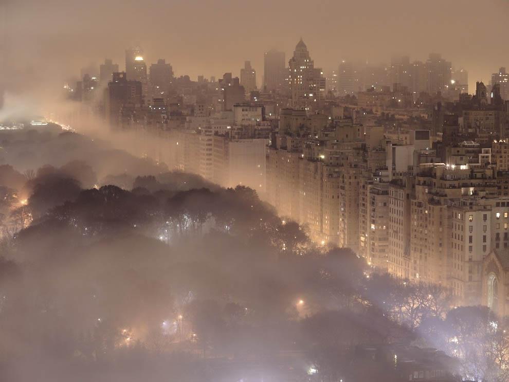 9132 Города окутанные туманом