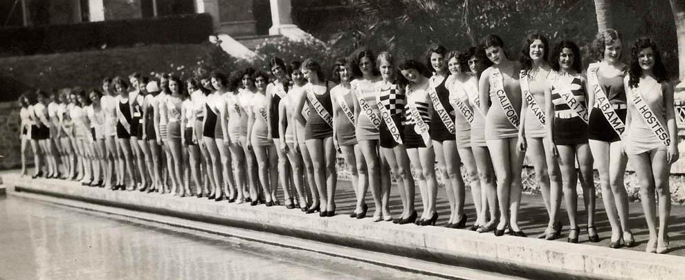 9152 Конкурсы красоты в Америке между двумя войнами   1924 1939 годы