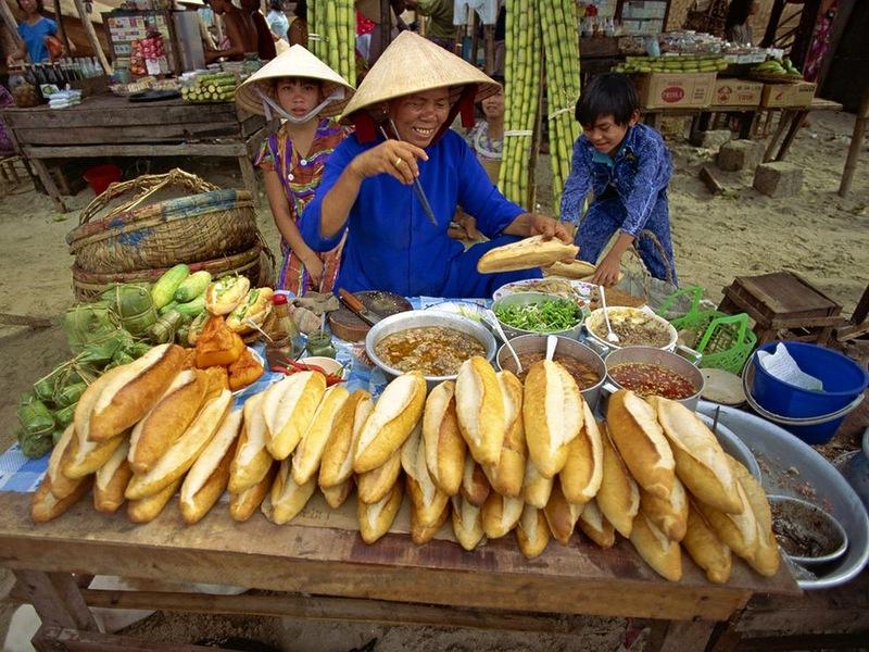 9160 Популярная уличная еда в разных странах