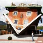 Новая достопримечательность Тироля – перевернутый дом
