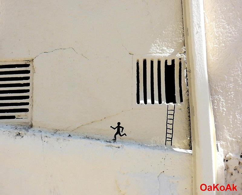 961 Лучшие работы в жанре Стрит арт в апреле 2012