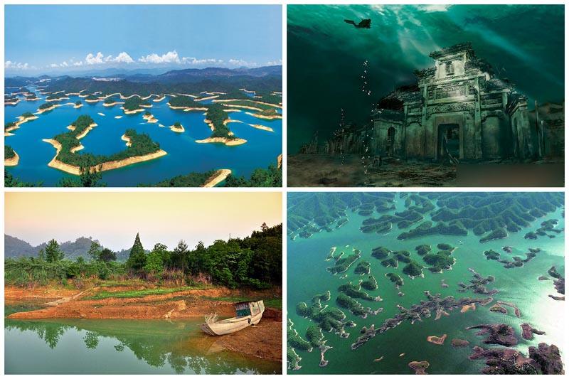 BIGPIC2242 Цяньдаоху   Озеро тысячи островов