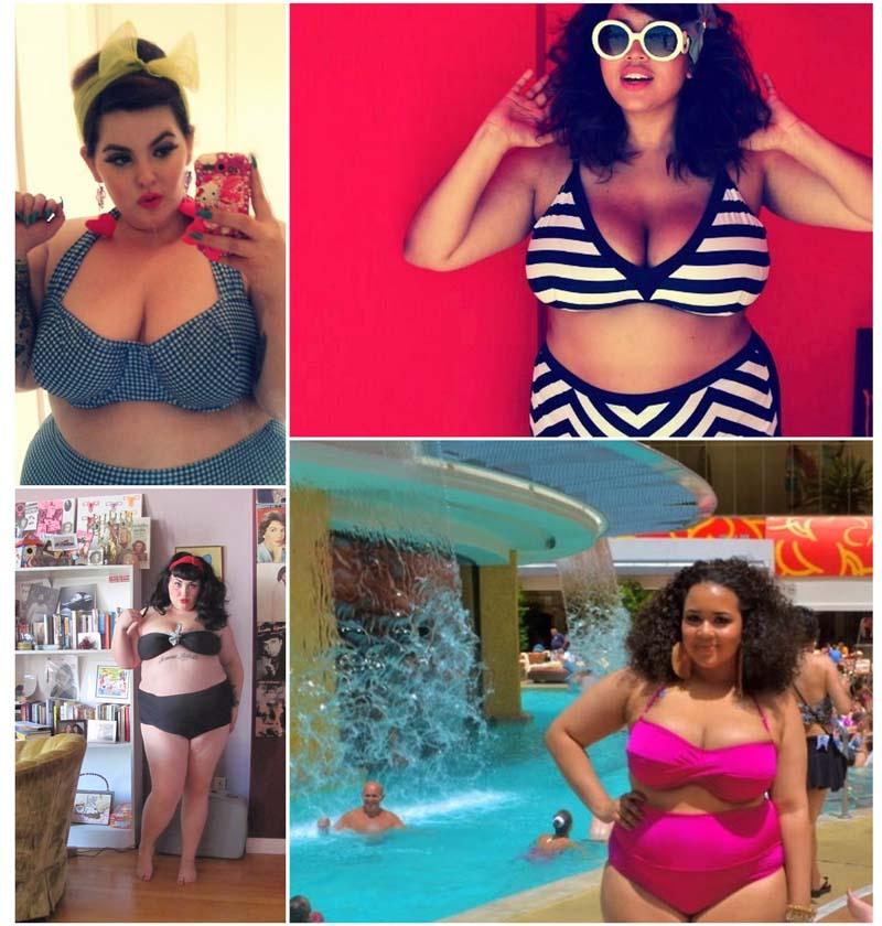 BIGPIC2253 Толстушки в купальниках стали хитом Интернета