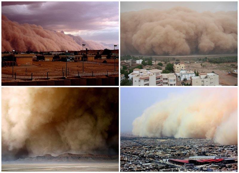 Самум — песчаная буря