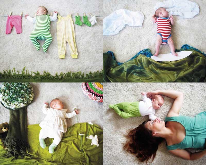 Оригинальные фото детей в домашних условиях