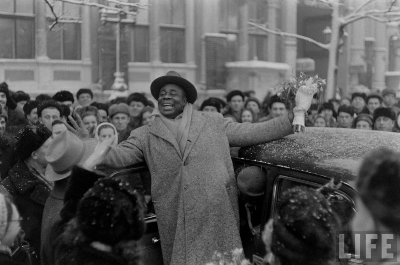amer04 Американские туристы в Ленинграде зимой 1955 1956 гг.