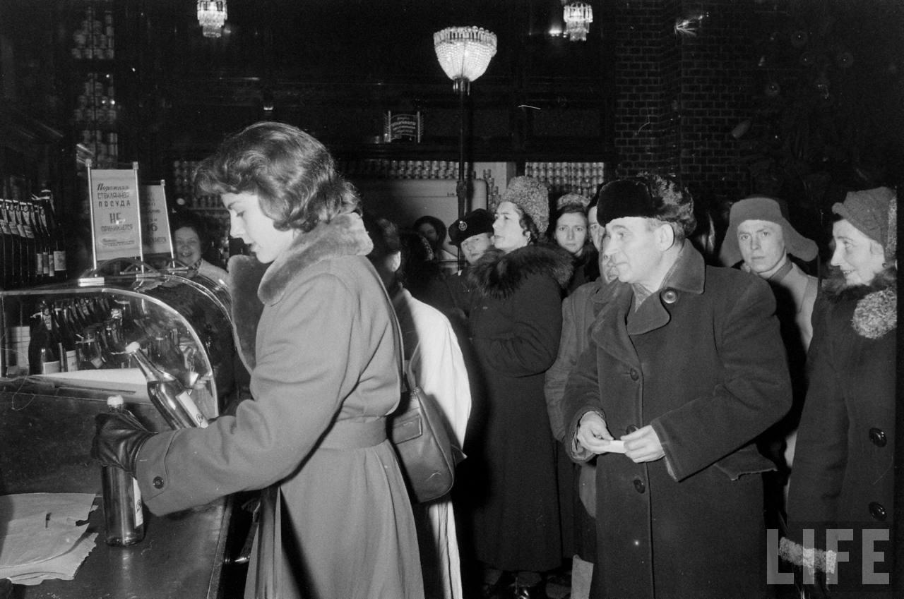 amer05 Американские туристы в Ленинграде зимой 1955 1956 гг.