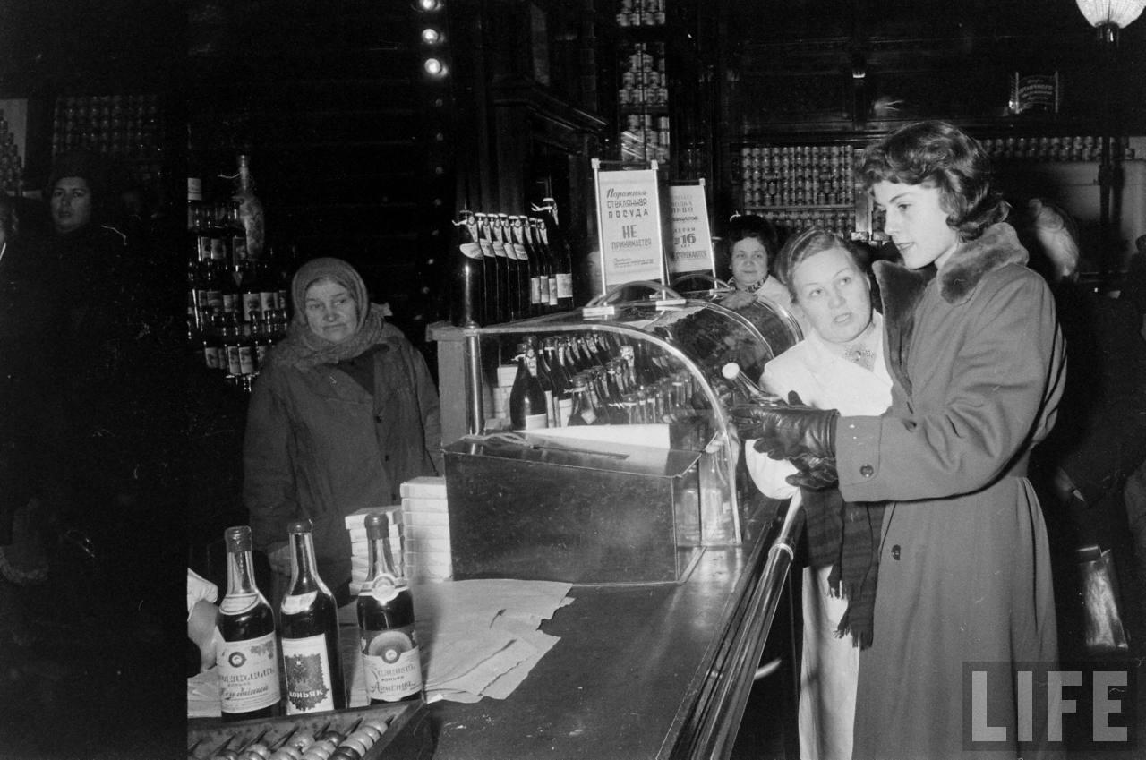 amer21 Американские туристы в Ленинграде зимой 1955 1956 гг.