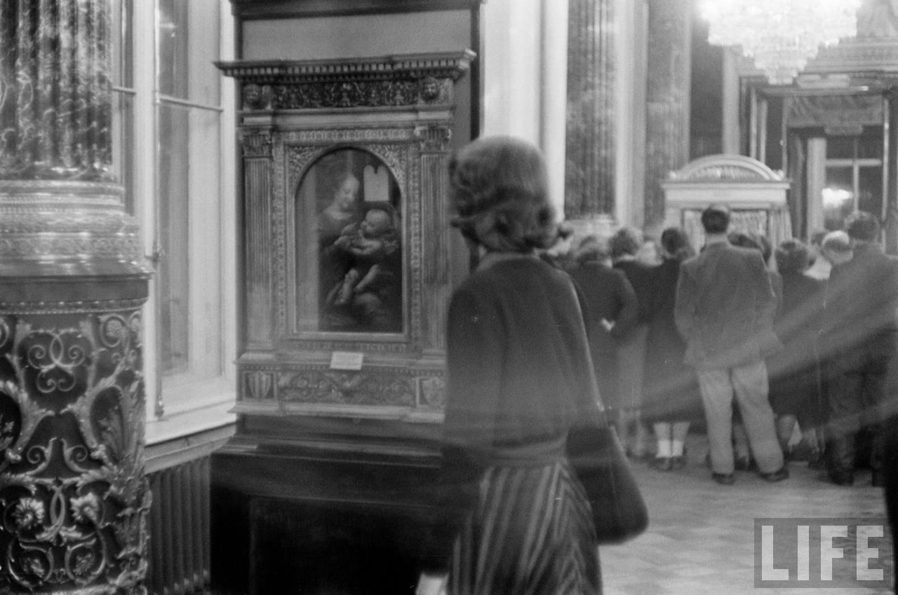 amer35 Американские туристы в Ленинграде зимой 1955 1956 гг.
