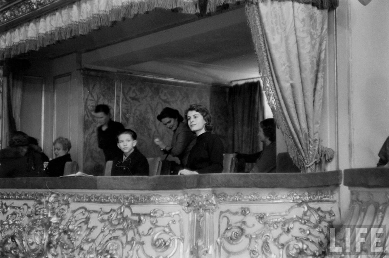 amer36 Американские туристы в Ленинграде зимой 1955 1956 гг.