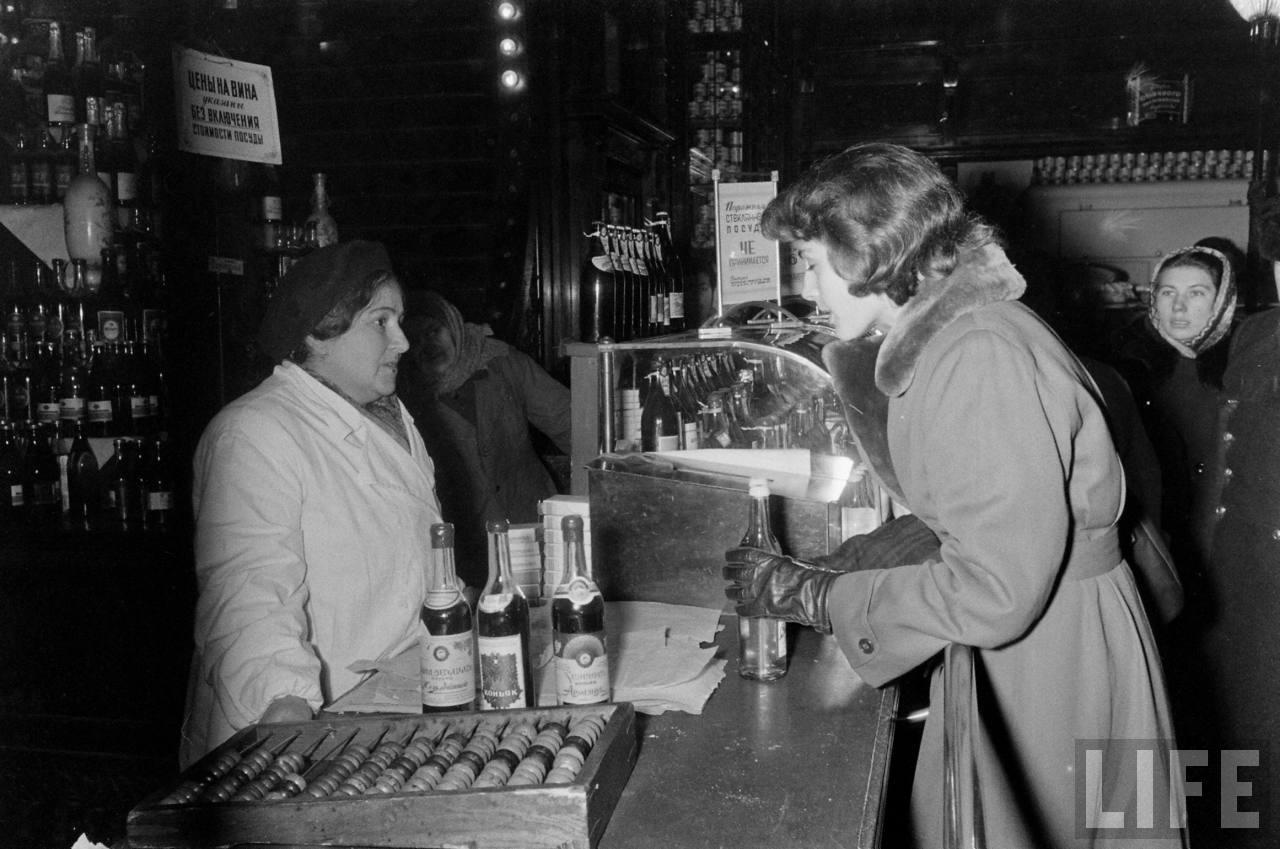 amer37 Американские туристы в Ленинграде зимой 1955 1956 гг.