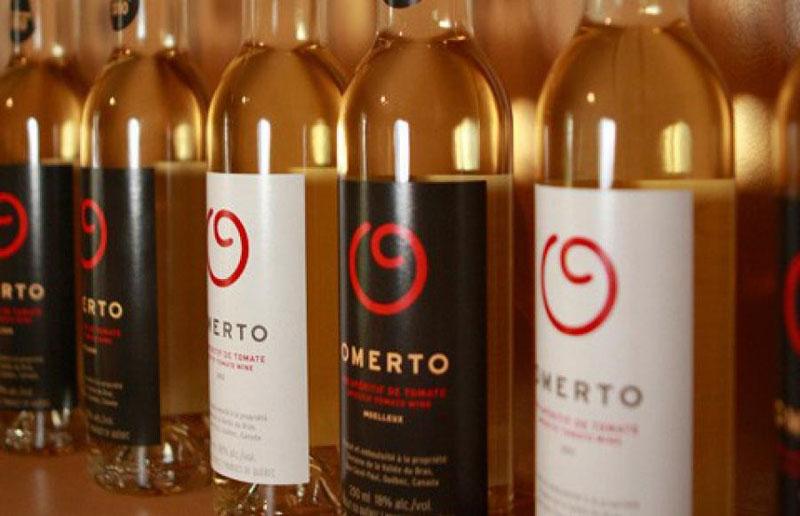 bouteilles d omerto Вино из помидоров