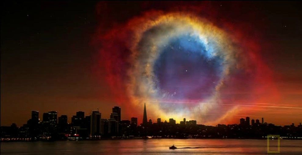fantasticheskie vidy nochnogo neba 1 Фантастические виды ночного неба Земли