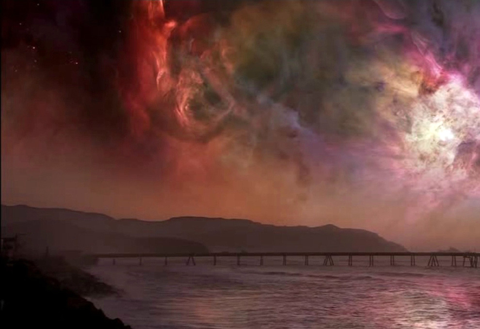 fantasticheskie vidy nochnogo neba 6 Фантастические виды ночного неба Земли