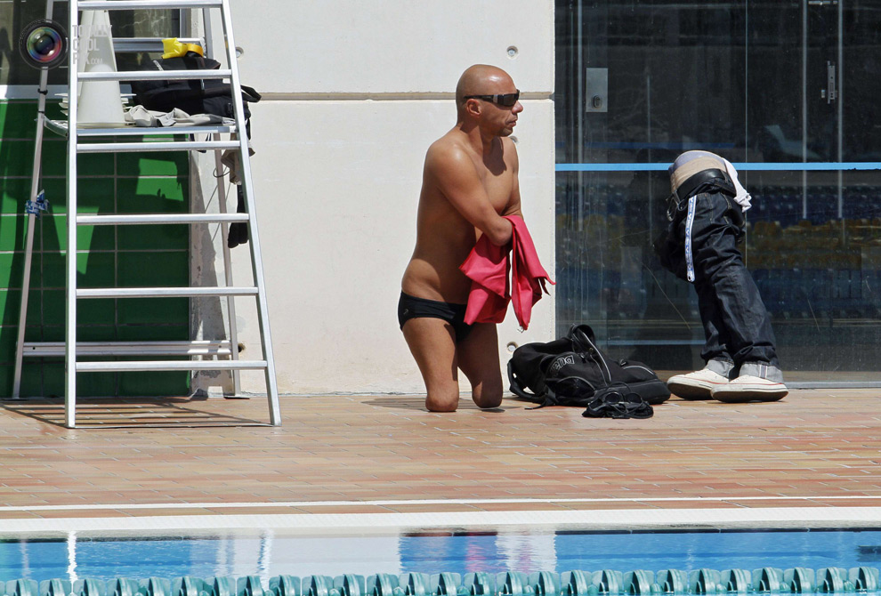 ldn2012parawimmers 003 Лондон 2012   тренировка паралимпийских пловцов